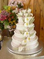 Italian Buttercream's stability helps in icing cakes