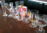 what are the different types of bar glassware to serve a drink?