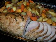 Roast Pork with Harvest Vegetables
