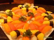 Eating healthy at a Japanese Restaurant starts with ordering sushi
