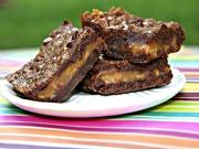 Chocolate Caramel Brownies-You've Been Warned