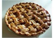 Rhubarb Lattice Pie