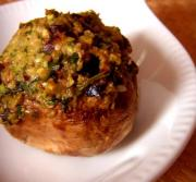 Marinated Stuffed Mushrooms