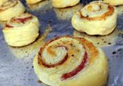 Cheese & Bacon Pinwheels