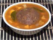 Ragi Mudda / Ragi Sankati / Ragi Mudde - Healthy Finger Millet Dumpling with Lentil Soup