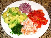 Simple Avocado & Shrimp Salsa