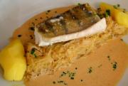 Fillets In Almond Butter Sauce