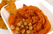 Hummus with Roasted Red Bell Pepper