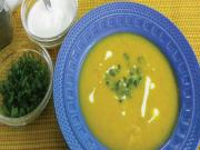 Pumpkin and Dill Seed Soup by Tarla Dalal
