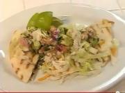 Crab Quesadillas With Avocado Salsa
