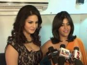 Sunny Leone & Ekta Kapoor - Exclusive Photos from Comedy Nights with Kapil
