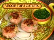 Indian Tofu and Vegetable Cutlets
