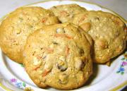 Double Oatmeal Raisin And Chocolate Chip cookie