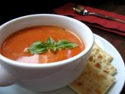 Minty Tomato Soup