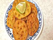 Sarasiya Khaja - Fried Flaky Biscuits