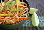 Delicious Asian style noodle salad - one of the top 10 noodle dishes