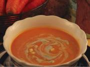 How to make Carrot and Blue Cheese Soup