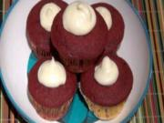 Red Velvet Cupcakes - Eggless