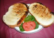 Italian Syle Grilled Eggplant Sandwich