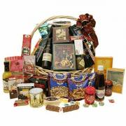 Irish food hamper with a great collection of delicious goodies