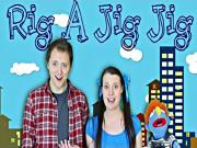 Rig A Jig Jig - Nursery Rhyme