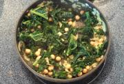 Kale With Coconut And Chickpeas