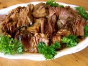 Marinated Beef Roast