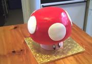 3 D Super Mario Mushroom Cake