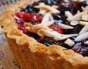 Quick Cherry Cream Tarts