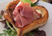Valentine's Special Fig and Parma Ham Hearts