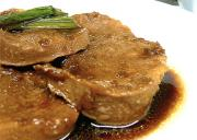 Ox Tongue With Raisin Sauce
