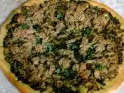 Malaysian Pesto Pizza