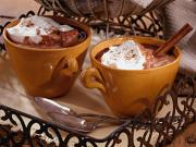 Chai Spiced Hot chocolate is the best way to kick off the aftersnow celebrations.