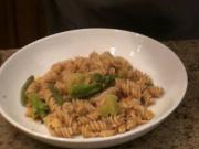 Peanut Masala With Brown Rice Pasta- Jon Ham And Julieanna Hever In The Kitchen