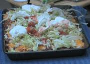 Pizza Style Grilled Quesa Nacho
