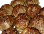 Meatballs A La Grecque