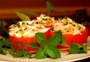 Tomato Shrimp Baskets
