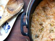 Eggplant and Tomato Risotto