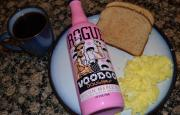 Bacon beer, not so good, even with egg and toast