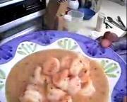Gourmet Shrimp With Sauce