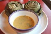 Artichoke Hearts In Bearnaise Sauce