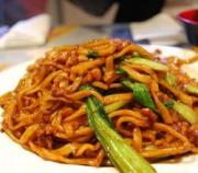Chinese vegetarian noodles