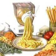 Lubricate pasta maker periodically for smooth functioning