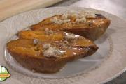 Baked Sweet Potato with Pecan-Maple Topping