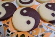 Checkerboard, Yin yang and Zebra Stripe Cookies