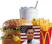 Mitt Romney recommends McDonalds