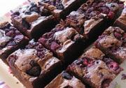 Sour Cream Raspberry Brownies