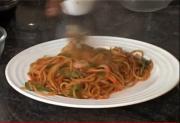 Chinese Pasta in Schezwan Style