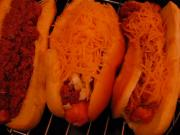 Betty's Winning Chili Cheese Hot Dogs