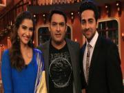 Sonam Kapoor & Ayushmann Khuranna on Comedy Nights with Kapil